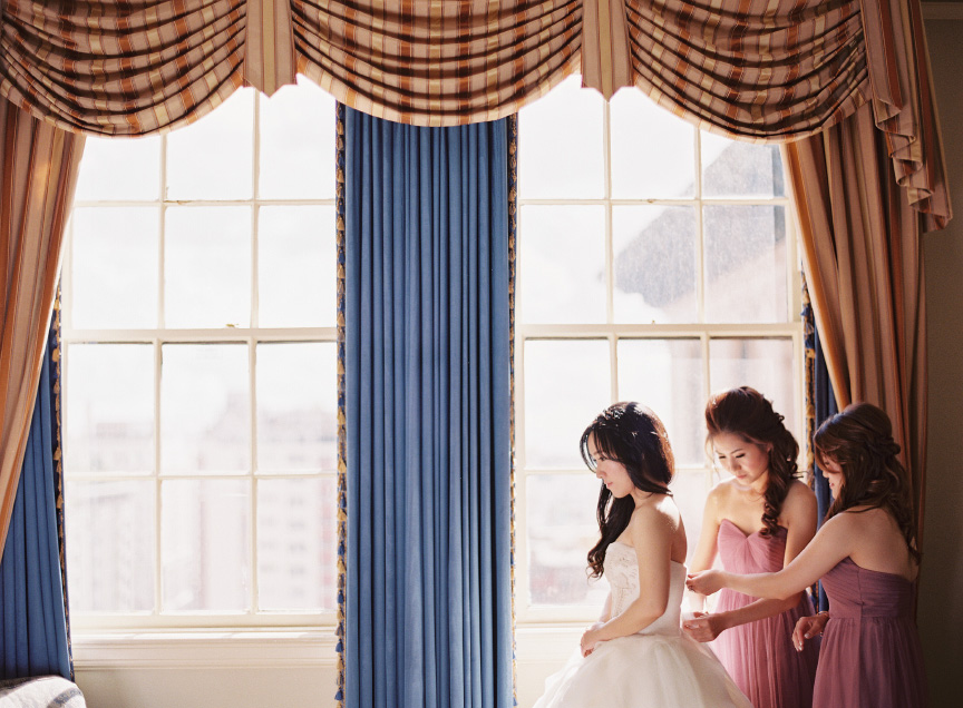 Millenium Biltmore Hotel Wedding