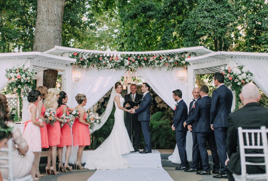 Calamigos Equestrian Wedding